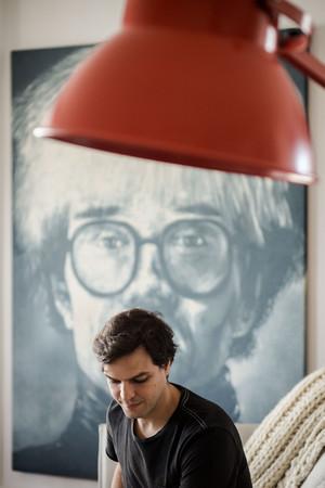 Valter Costa Lima, arquiteto, para revista Galeria