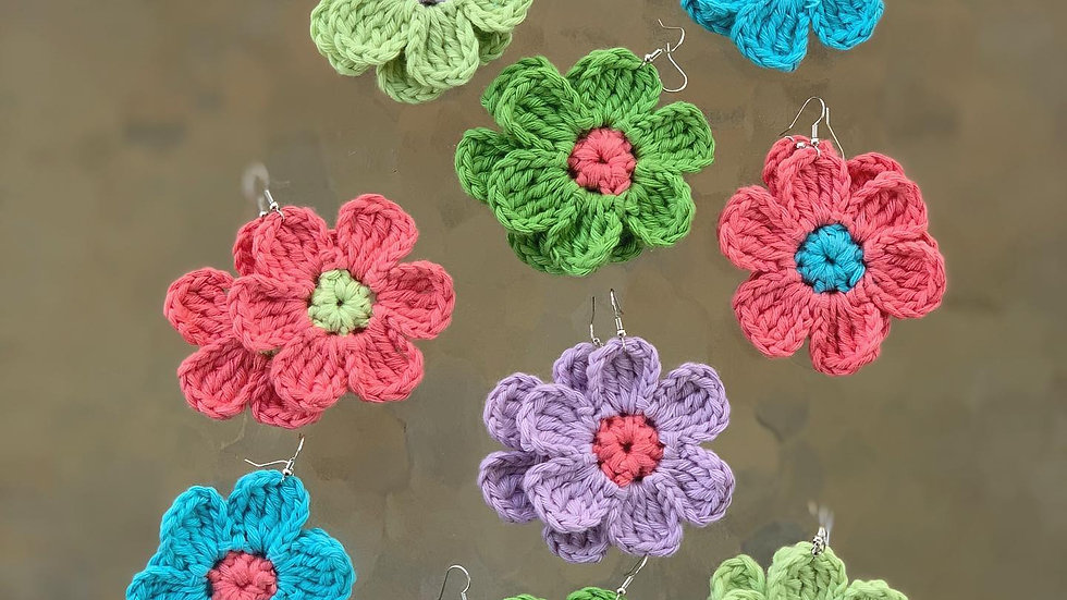 Flower Power Earring