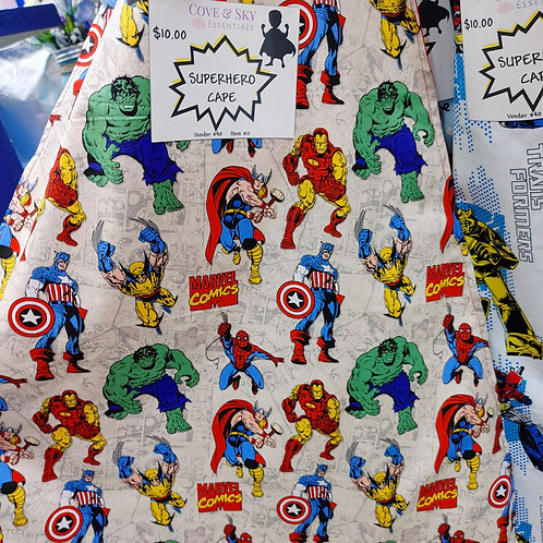 Marvel Heroes Cape