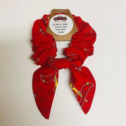 St. Louis Cardinals Singe Scrunchie