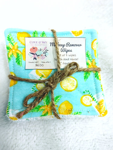 Lemons Makeup Remover Wipes