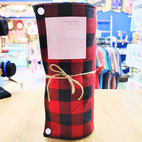 Red Buffalo Plaid (small) Unpaper Towels