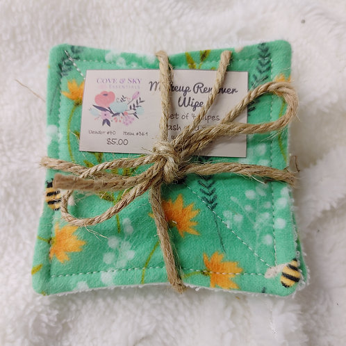 Bees Makeup Remover Wipes