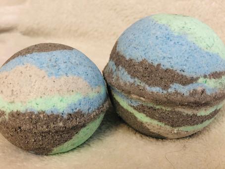 Galaxy Ocean Breeze Bath Bombs
