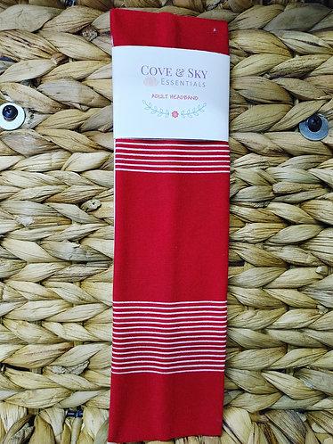 Red W/ White Stripes