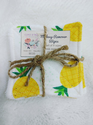 Pineapples Makeup Remover Wipes