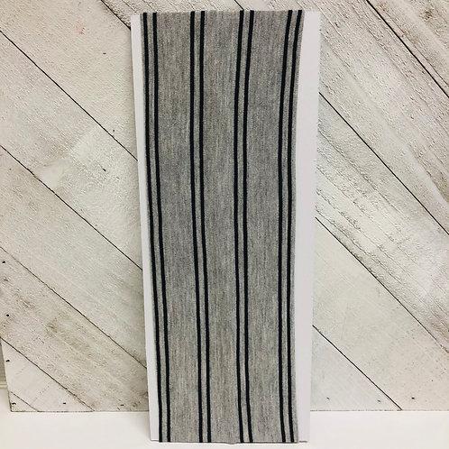 Gray W/ Black Stripes