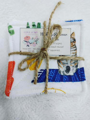 Cats and Cacti Makeup Remover Wipes
