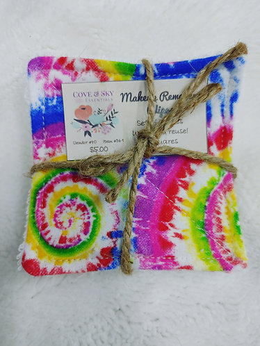 Tie Dye Makeup Remover Wipes