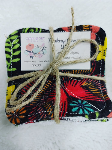 Fall Butterflies Makeup Remover Wipes