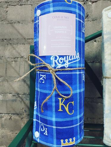 KC Royals Unpaper Towels