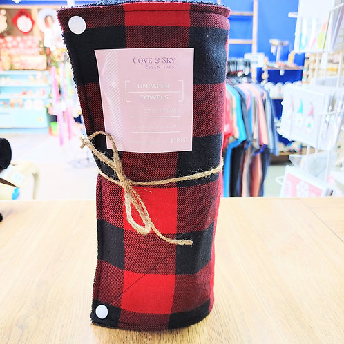 Red Buffalo Plaid (large) Unpaper Towels