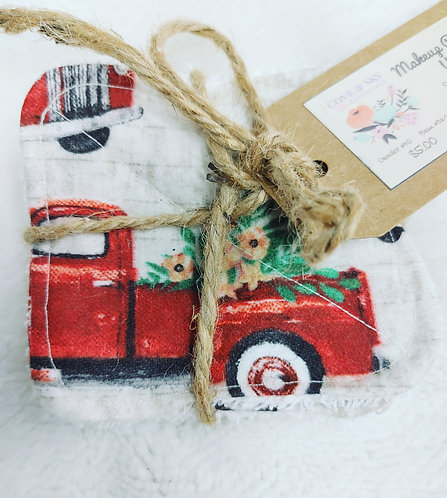Red Truck Makeup Remover Wipes