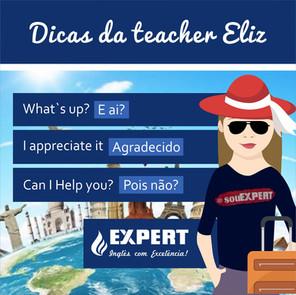 Dicas da Teacher Eliz