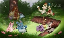 The Rabbit Warren Playmat
