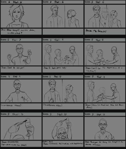 Sleepers Storyboards