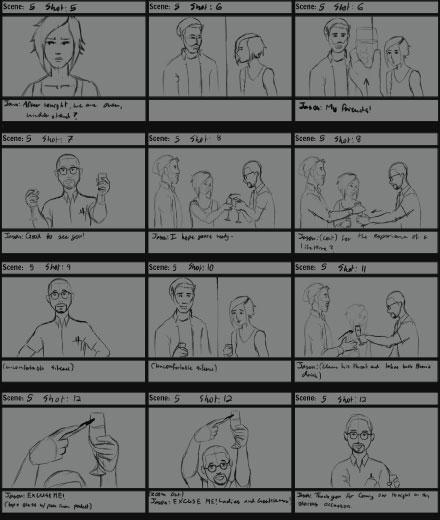 Sleepers Storyboards