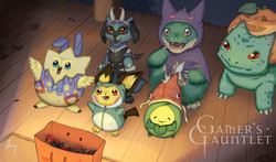 The Trick-or-Treaters Playmat