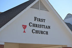 First Christian Church front