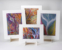 Frances Whitman Intuitive art prints in