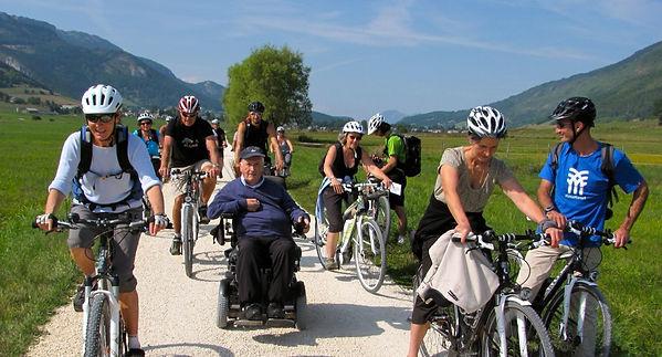 Promeneur vélo à assistance source Via Vercors