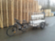 SEV Velix 700 Classic vélotaf par excellence en mode cargo tracteur