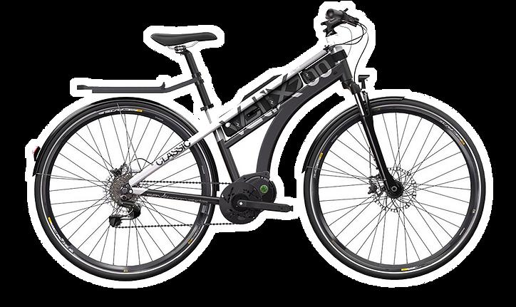 SEV vélo à assistance électrique Velix 700 Classic boutique Green E-Bike Country