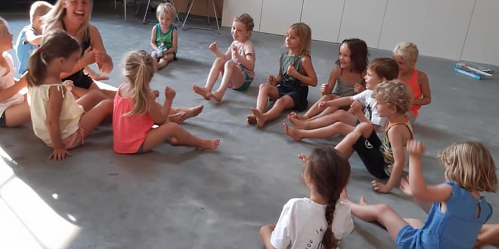 Yogakamp voor kleine deugnieten