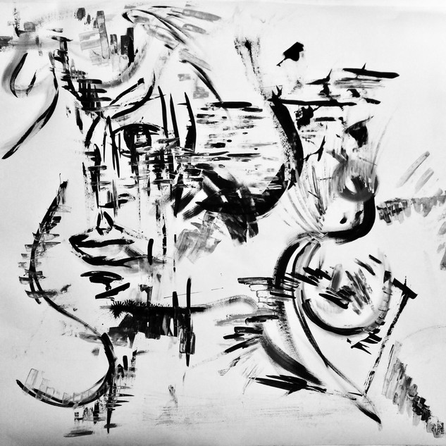 Composition 108, Thinking of You), Acryl