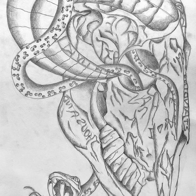 Composition 160, Tattoo design