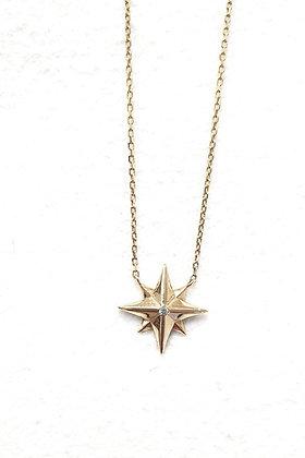 שרשרת כוכב זהב