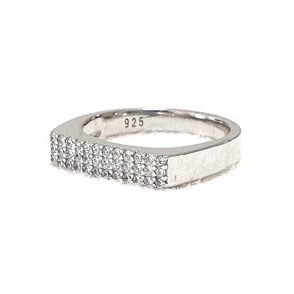 טבעת חותם משובצת
