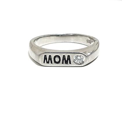 טבעת חותם MOM