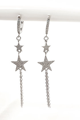 עגילי כוכבים ארוך
