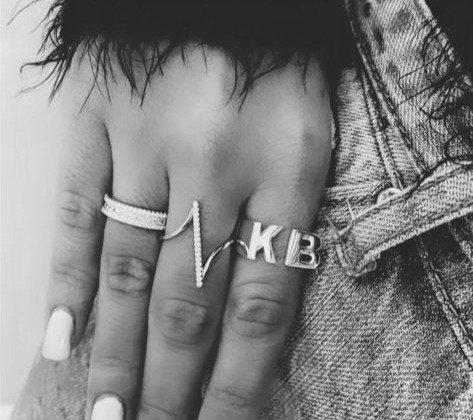 טבעת אות זוגית