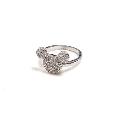 טבעת שלוש עיגולים כסף