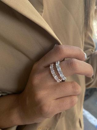 טבעת שיבוץ משולשים