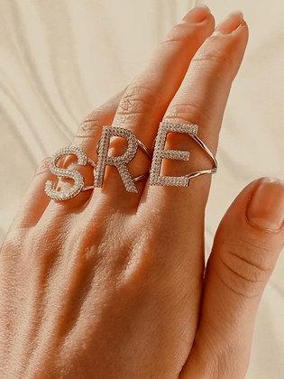 טבעת אות כסף