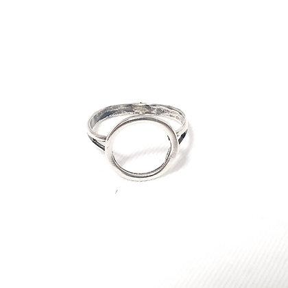 טבעת מעגל כסף