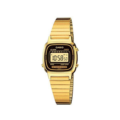 שעון קסיו דיגיטלי מוזהב
