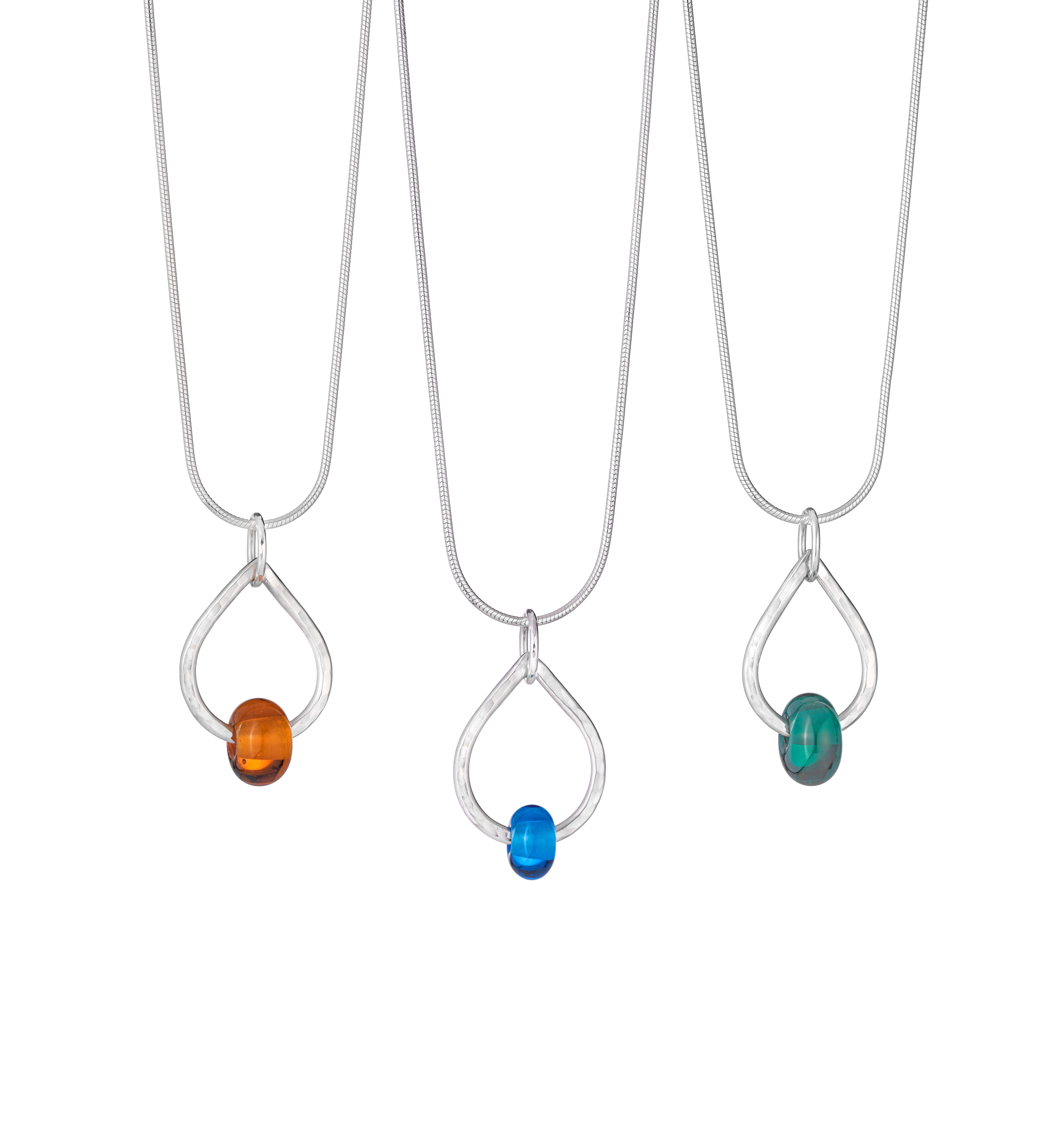 Teardrop Bead Pendants