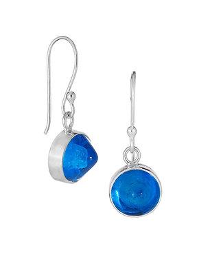 Set Glass Drop Earrings