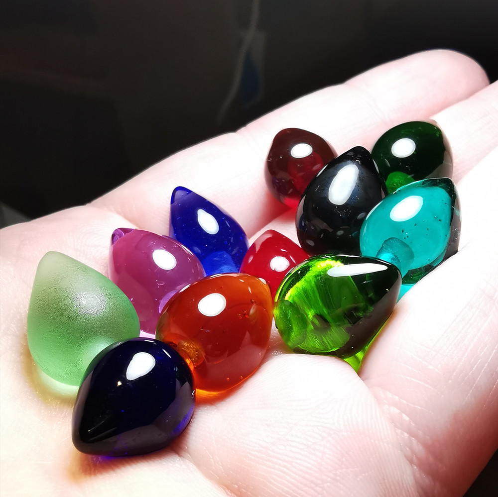 Colourful Glass Beads for my Silver and Glass Jewellery