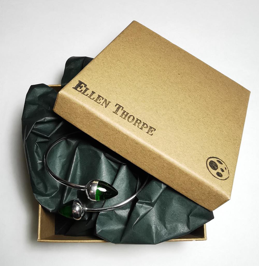 Ellen Thorpe Handmade Silver Jewellery Packaging Box