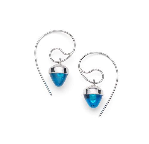 Pulsar Blue Earrings