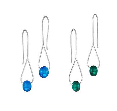 Bead Teardrop Drop Earrings