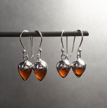 Glass Bud Earrings