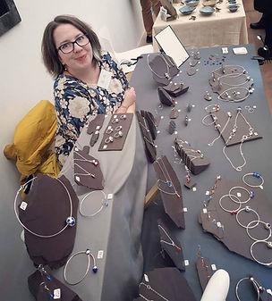 Ellen Thorpe Jewellery North Wales Contemporary Craft Fair