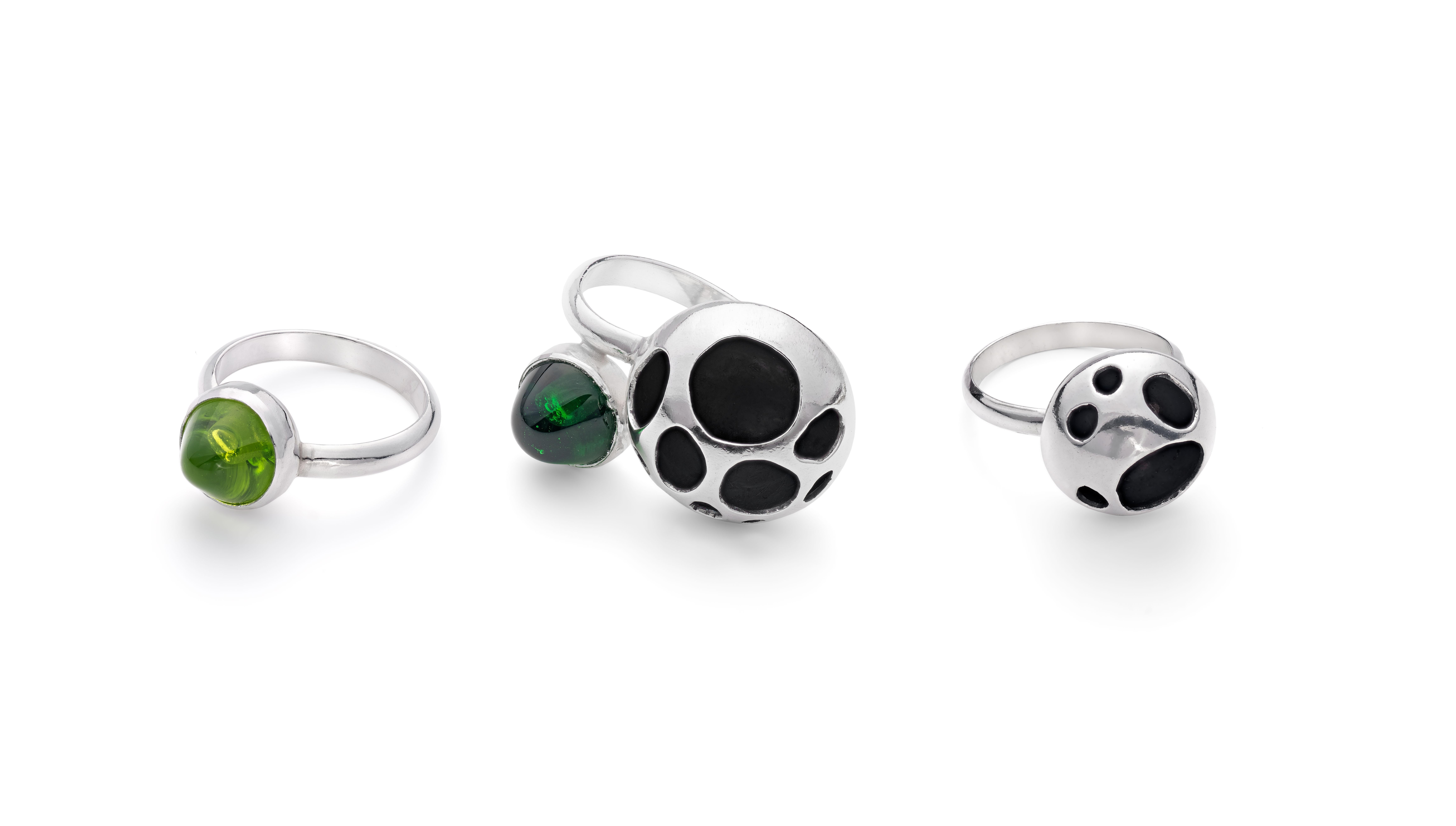 Cluster Rings