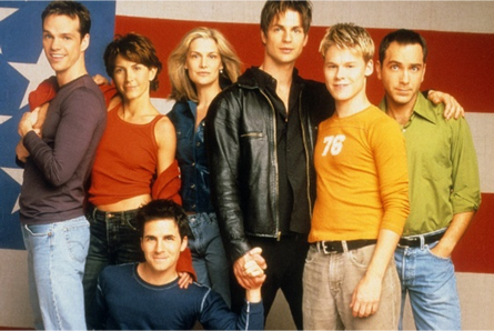 Michelle Clunie and Queer as Folk Cast
